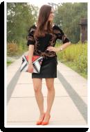 black late summer | Style my Fashion
