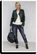 green jacket | Style my Fashion
