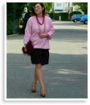 Lady in Powder pink | Style my Fashion