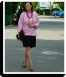 Lady in Powder pink   Style my Fashion