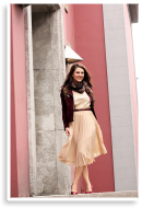 nude+burgundy | Style my Fashion