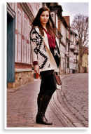 aztec & bordeaux | Style my Fashion