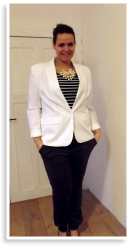 Plus Size Büro Outfit   Style my Fashion