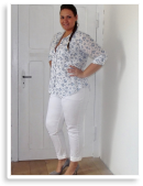 Plus Size Weiße Hose | Style my Fashion