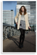 Fake Fur Coat and New Haircut | Style my Fashion
