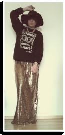 Gold glam | Style my Fashion