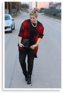 Red black checked | Style my Fashion
