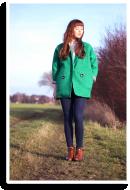 Green coat | Style my Fashion
