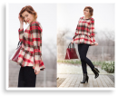 TARTAN PEPLUM BLOUSE. Trends For 2013/2014 | Style my Fashion