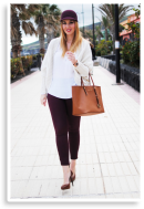 Burgundy Symphony | Style my Fashion
