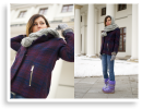 purple winter | Style my Fashion