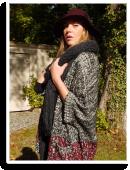 Hippie Herz aus Strick und Leder | Style my Fashion
