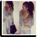 JeansDenim with Fur | Style my Fashion