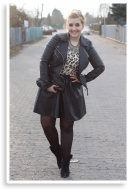leo & leather   Style my Fashion