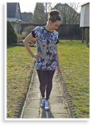 I put my Nike's on :)   Style my Fashion