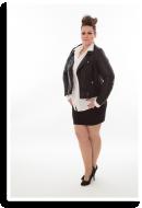 Mit Minirock und Lederjacke | Style my Fashion