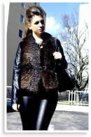 Fur vest Outfit - Casual | Style my Fashion