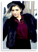 Fur vest Outfit - Vintage Style | Style my Fashion