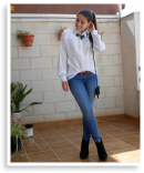 WHITE SHIRT AND JEANS | Style my Fashion