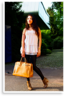 A girl and a bag :-) | Style my Fashion