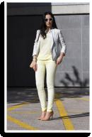 Lemon Fragrance Jeans on me | Style my Fashion