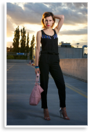 jumpsuit in sunset | Style my Fashion