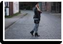 outfit lederjacke und sweatpants | Style my Fashion