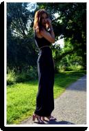 Das lange Schwarze   Style my Fashion