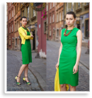 green and yellow | Style my Fashion