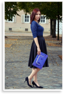 Neopren & blue | Style my Fashion