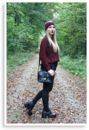 So autumn with bordeaux. | Style my Fashion