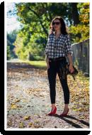 Kurzer Sommer im Karohemd | Style my Fashion