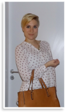 Lockere Bluse in weiß rot. | Style my Fashion