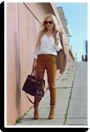 Apricot Woolen Coat | Style my Fashion