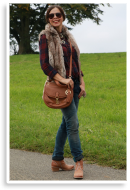Fake-Fur-Weste und Karohemd   Style my Fashion