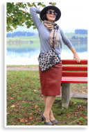 Herbstliches Businessoutfit mit Burberry-Schal | Style my Fashion