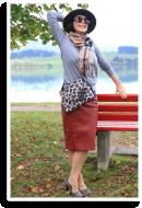 Herbstliches Businessoutfit mit Burberry-Schal   Style my Fashion