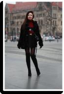 Fur & Burgundy | Style my Fashion