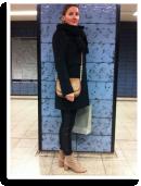 NYC Trend Umhängetasche & Fake Fur Zara Pulli   Style my Fashion