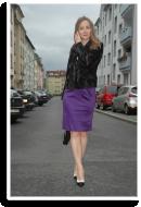 Lila, Schwarz und Gold für Weihnachten | Style my Fashion