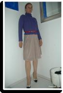 Flirty Winter: Zopfpulli & Sommerrock   Style my Fashion