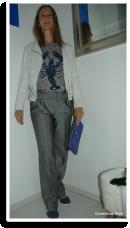 Winter Cool: Blue Lobster & Grey Glitter   Style my Fashion