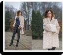 creamy fur coat | Style my Fashion