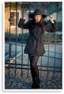 Black coat | Style my Fashion