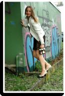 Date Night: Spitzenkleid mit Lederjacke | Style my Fashion