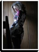 elegantes Kleid  in warmen Tönen .... Unikat von Kassis | Style my Fashion