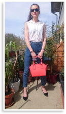 HOCH HINAUS | HIGH WAISTED MOM JEANS | Style my Fashion