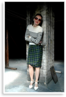 Mix it: Tartan & Stripes | Style my Fashion