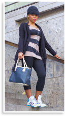 Blue Stripes | Style my Fashion